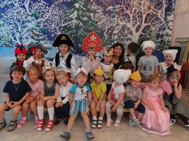 Вот и в нашем детском саду 16 января